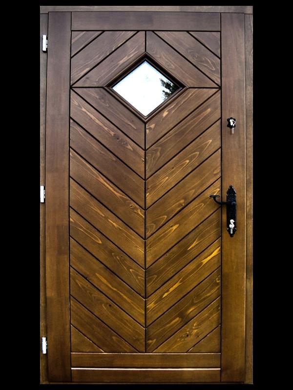 Drzwi Zewnętrzne Retro 1
